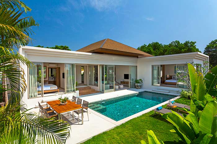 See Beautiful 2 & 3 Bed Pool Villas details