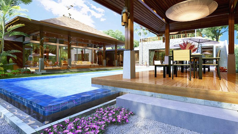 See Stunning 4 Bed Pool Villa details