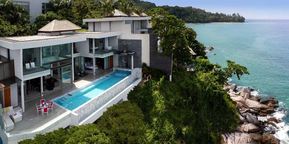 See Oceanfront 4 Bed Villa details