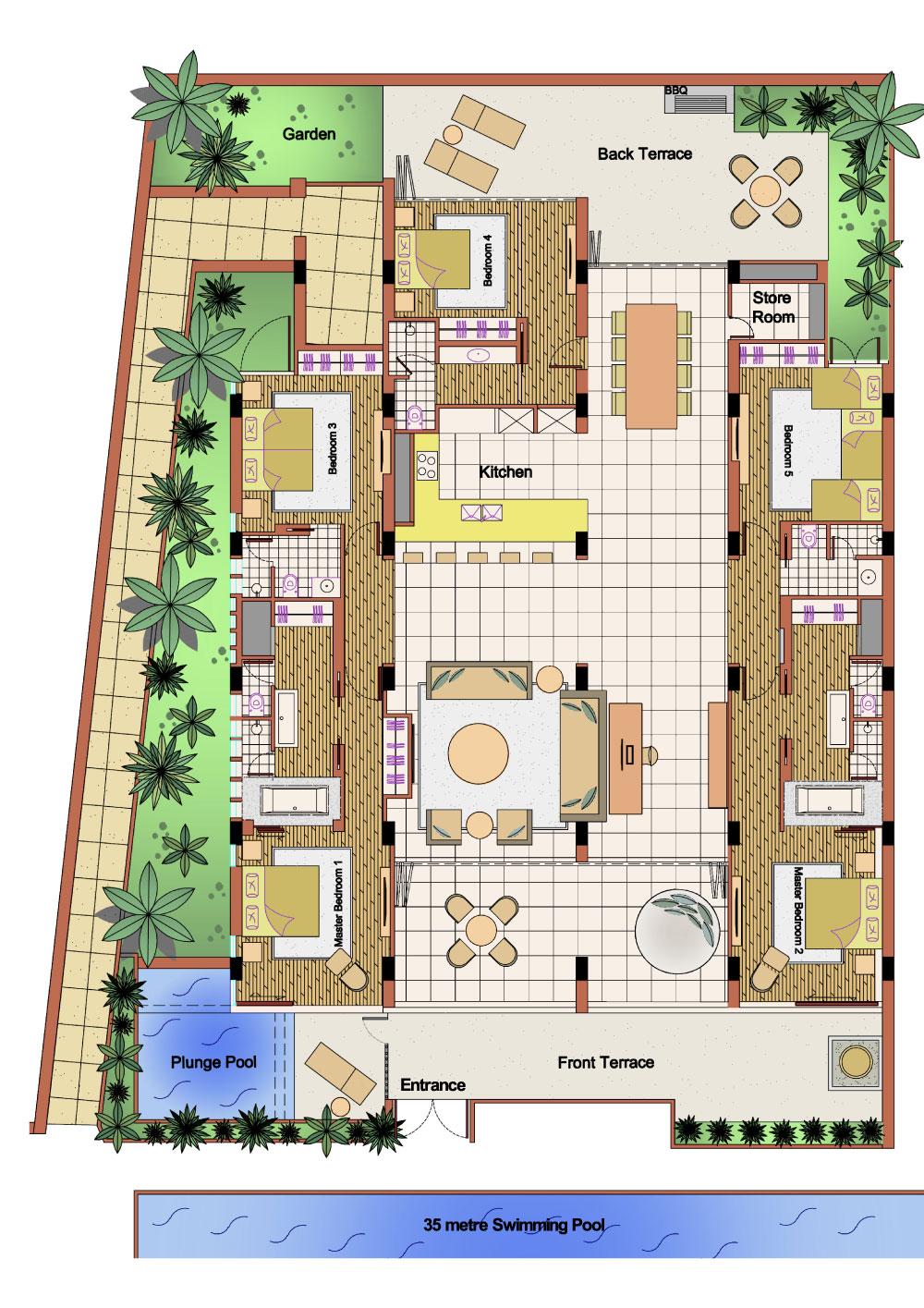 Stunning 5 Bed Apartment - 1617-floor-plans.jpg