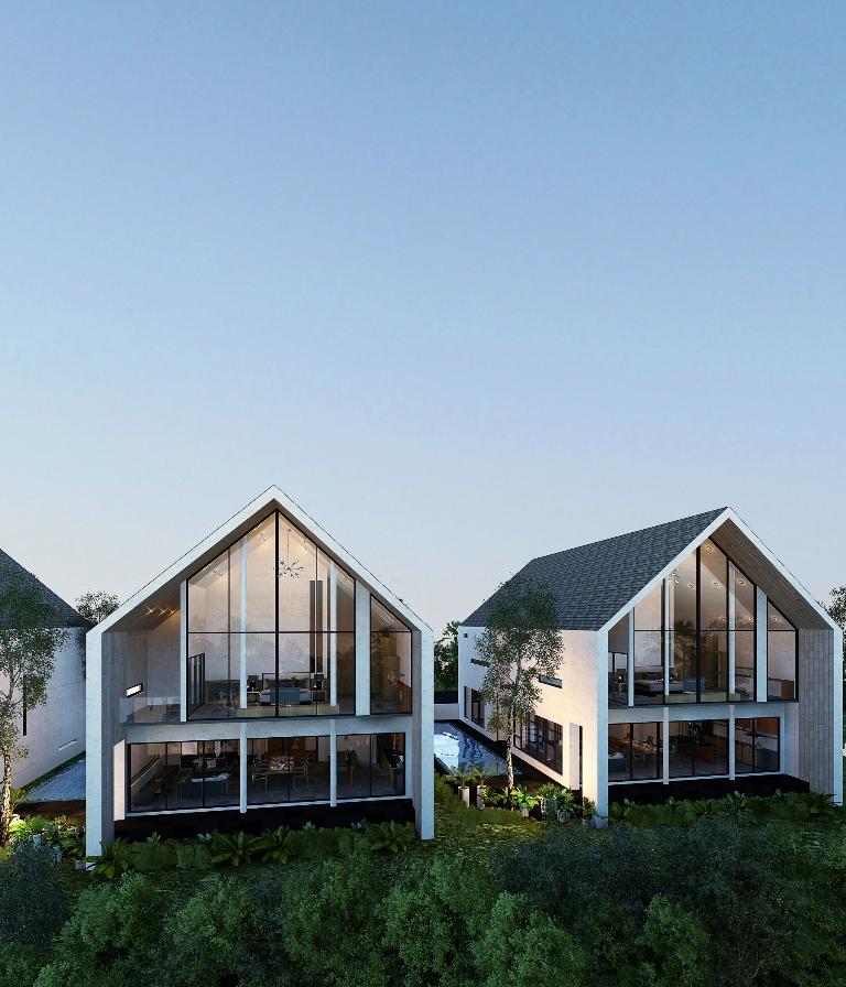 See Modern Pool Villas details