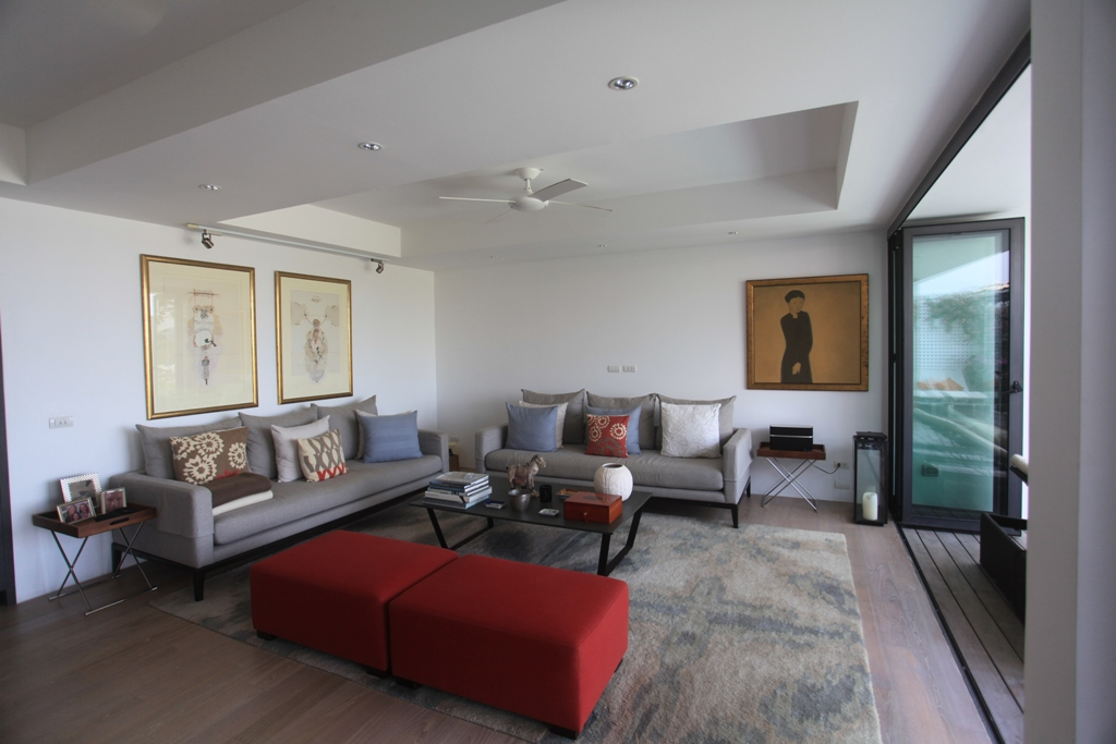 3 Bed Sea View Townhome - 1641-Surin saan Lounge Panorama View.jpg