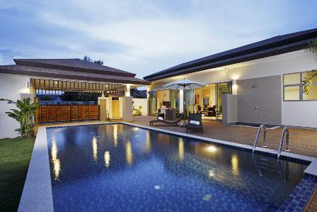 See Stylish 3 Bed Pool Villas details