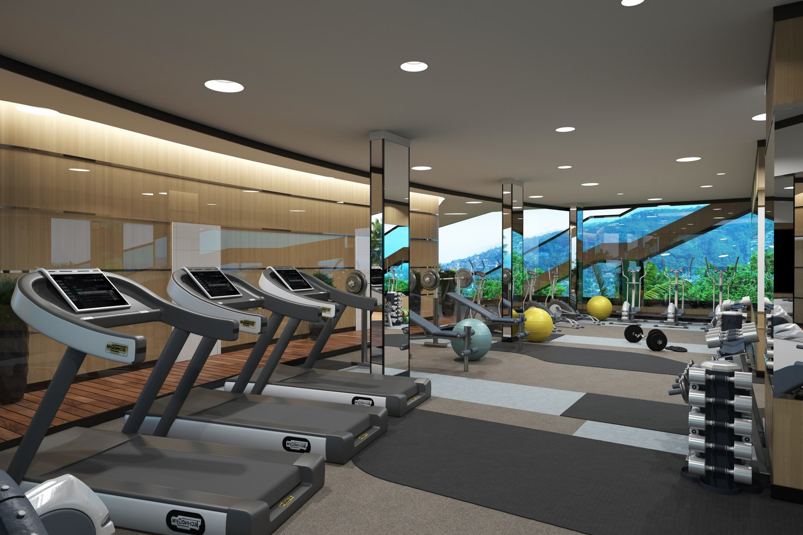 Superb 1 Bed Condos-7_Rooftop fitness center.jpg