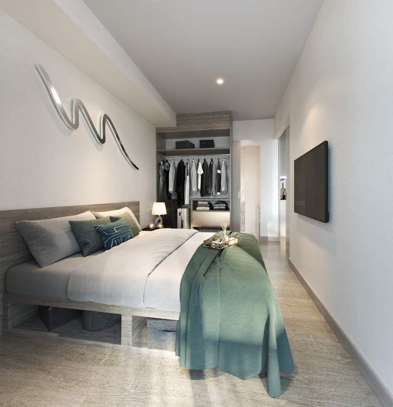 Stunning 1-2 Bed Condominiums-Prime Real Estate 1684D Sky Park bed.jpg