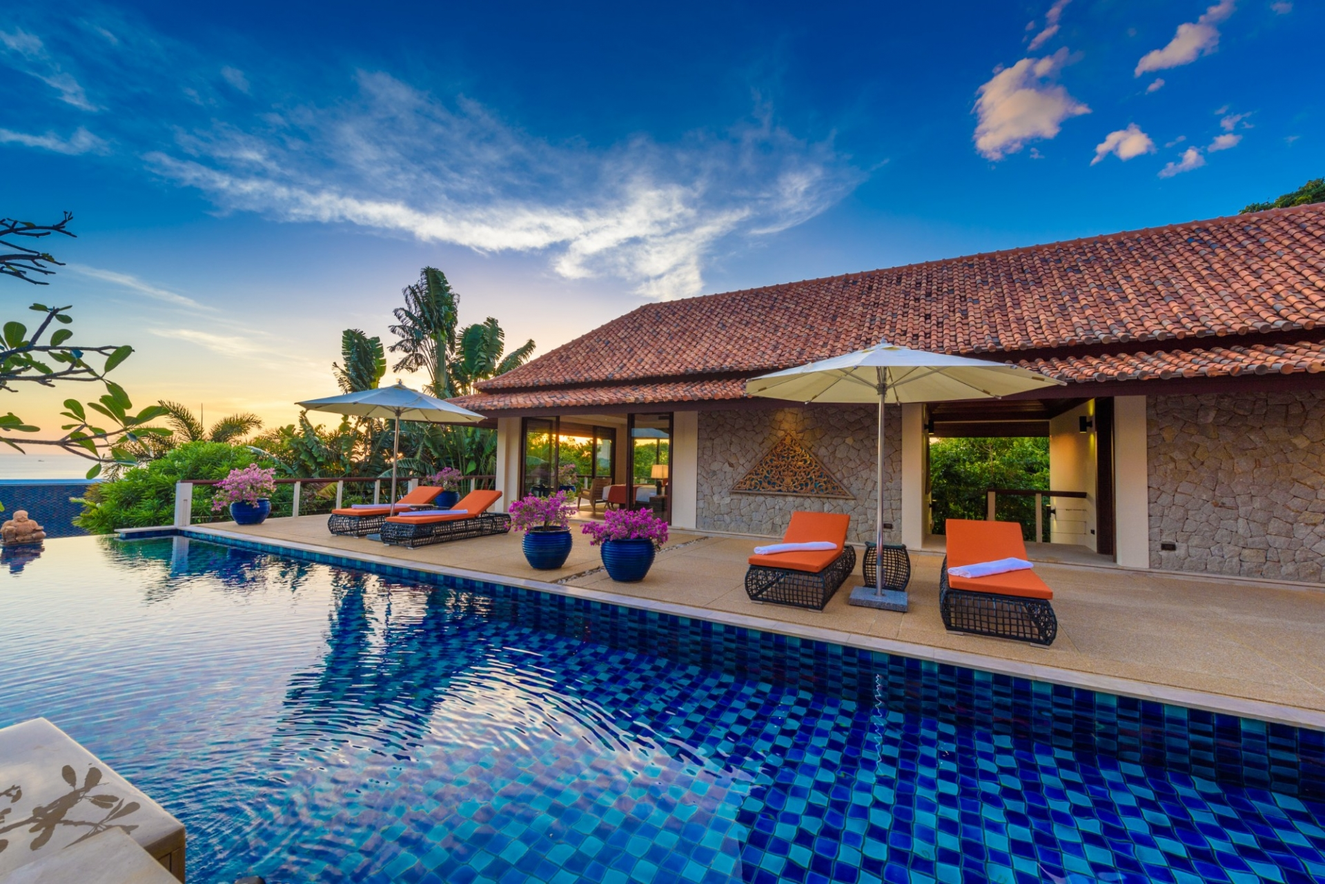 See Stunning Sea View Family Villa details