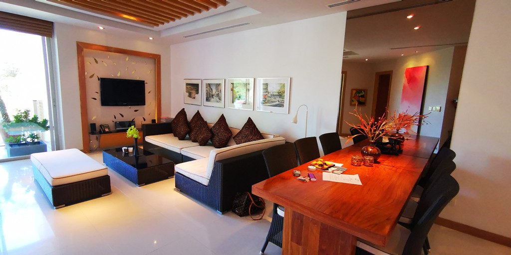 Very Rare Beachfront Apartment -Prime Real Estate Phuket 1701 terrace living(1).jpg
