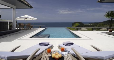 See Modern Sea View Villas details